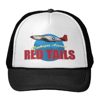 Le rouge coupe la queue des aviateurs de Tuskegee Casquette De Camionneur