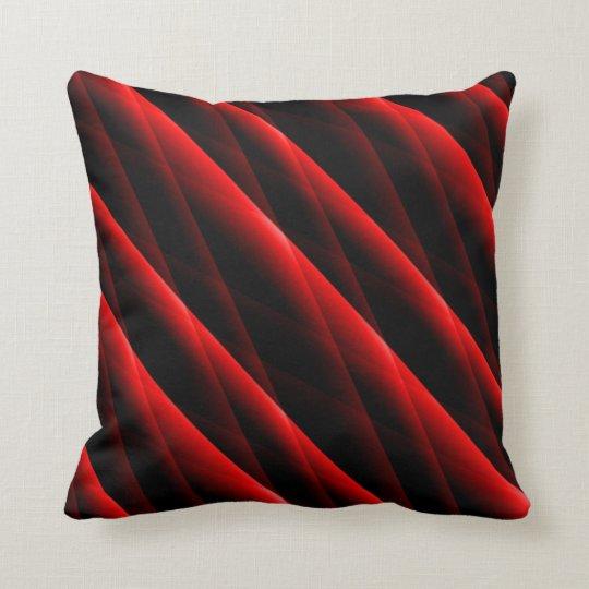 le rouge cramoisi a piqu le coussin carr moderne. Black Bedroom Furniture Sets. Home Design Ideas