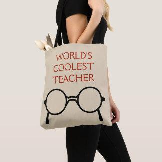 Le rouge de sac fourre-tout au professeur le plus