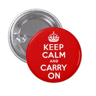 Le rouge gardent le calme et continuent badges