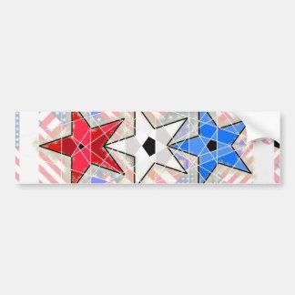 Le rouge le blanc le bleu … Bannière étoilée Adhésifs Pour Voiture