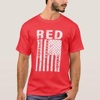Le ROUGE se rappellent chacun la chemise des T-shirt