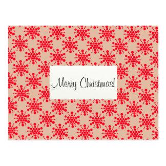 Le rouge tient le premier rôle le Joyeux Noël ! Cartes Postales