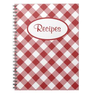 Le rouge vérifie le carnet de recette