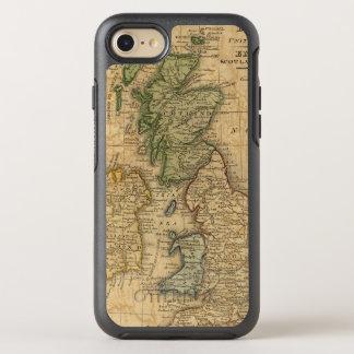 Le Royaume-Uni de l'Angleterre, de l'Ecosse et de Coque OtterBox Symmetry iPhone 8/7