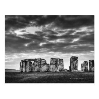 Le Royaume-Uni, Stonehenge 11 Cartes Postales