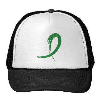 Le ruban vert A4 de l'infirmité motrice cérébrale Casquettes