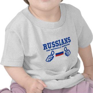 Le Russe sont naturellement impressionnant T-shirt