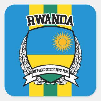 Le Rwanda Sticker Carré