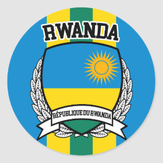 Le Rwanda Sticker Rond
