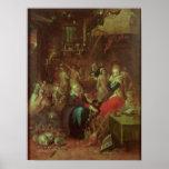 Le sabbat des sorcières, 1606 posters