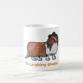 Le sable riant Sheltie Mug