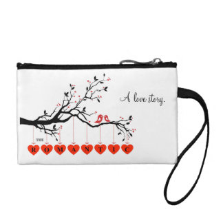 Le sac cosmétique romantique bourses