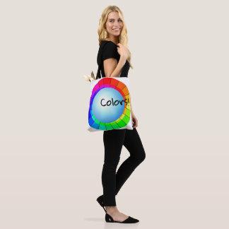 Le sac d'artistes d'art colore l'amusement de
