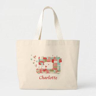 Le sac de couture de Quilter personnalisé