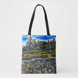 Le sac de marguerites de montagne