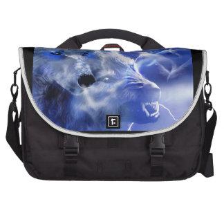 Le sac d'ordinateur portable avec Wolfs sur le Sac Pour Ordinateurs Portables