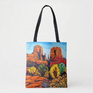 Le sac fourre-tout à roche de cathédrale