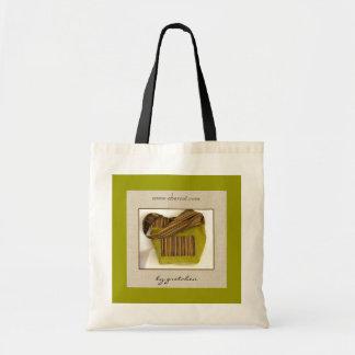 Le sac fourre-tout de scintillement Chartreuse à f