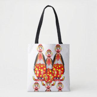 le sac fourre-tout fait le clown cirque