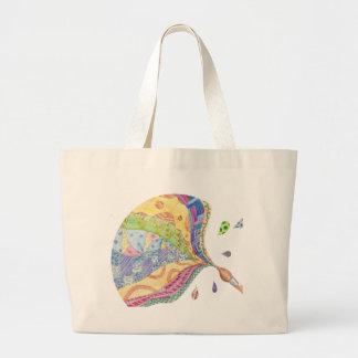 Le sac fourre-tout peint à édredon