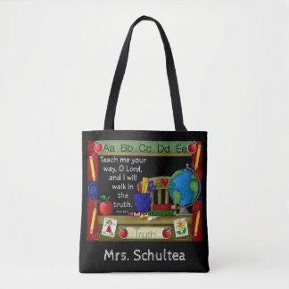 Le sac fourre-tout personnalisé par professeur