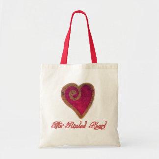 Le sac fourre-tout rouillé à coeur