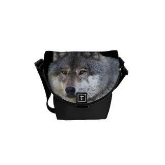 Le sac messenger des alpha Faune-amants de loup gr Besace