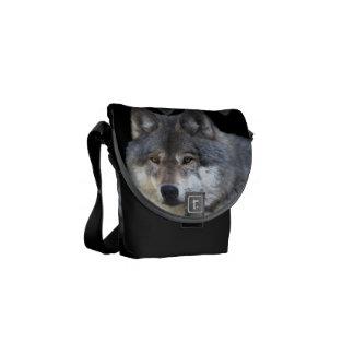 Le sac messenger des alpha Faune-amants de loup Sacoches