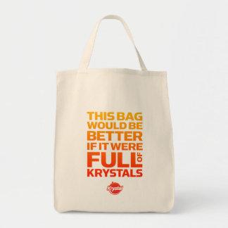 Le sac serait meilleur si complètement de Krystals
