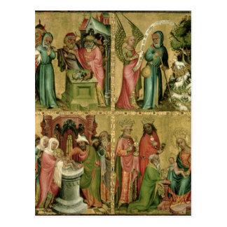 Le sacrifice de Joachim, la circoncision de Carte Postale