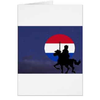 le saint avec le Pays-Bas maan.jpg Carte De Vœux