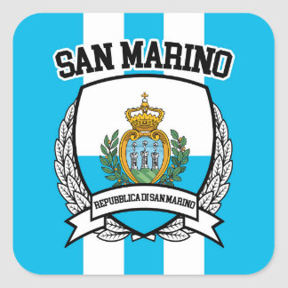 Le Saint-Marin Sticker Carré