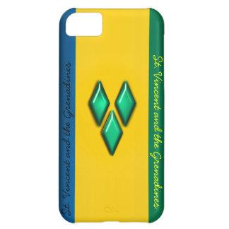 Le Saint Vincent et le cas d'Iphone 5 de grenadine Coque iPhone 5C