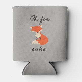 Le saké de Fox peut glacière