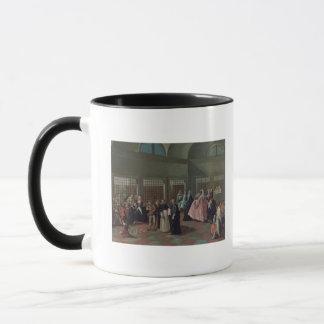Le salon de visite dans le couvent mug