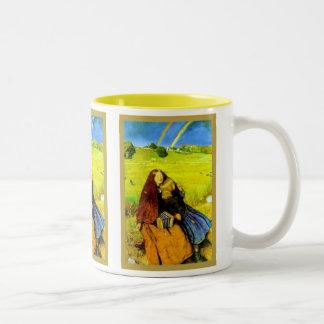 Le ~ sans visibilité John Everett Millais de fille Mugs