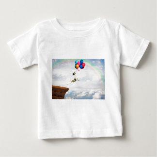 Le saut de la foi t-shirt pour bébé