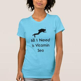 Le scaphandre tout que j'ai besoin est mer de t-shirt
