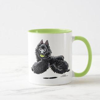 Le Schipperke laisse le jeu Mug