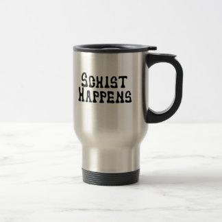 Le schiste se produit mug de voyage en acier inoxydable