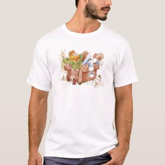 Le scooter des Muppets dans la chaise Disney T-shirt