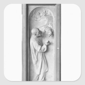 Le sculpteur, 1896 sticker carré