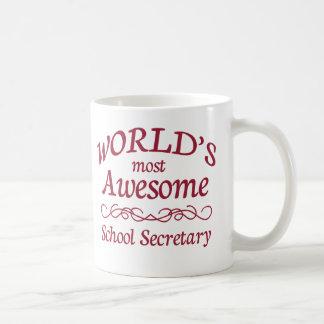 Le secrétaire de l'école le plus impressionnant du mug
