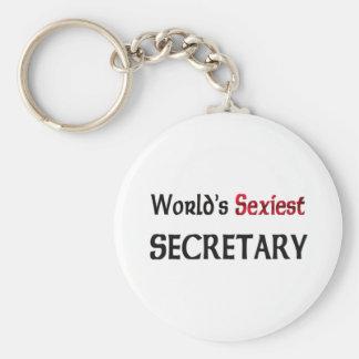 Le secrétaire le plus sexy du monde porte-clé rond
