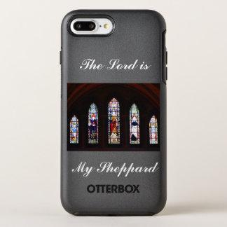 Le seigneur est mon cas de téléphone en verre coque OtterBox symmetry iPhone 8 plus/7 plus