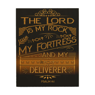 Le seigneur Is My Rock Poster