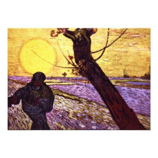 Le Semeur par Vincent van Gogh Faire-part Personnalisables