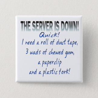 Le serveur est en panne badge