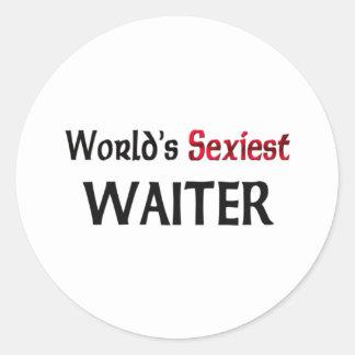 Le serveur le plus sexy du monde autocollants